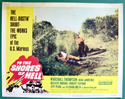 To The Shores Of Hell <p><a> Single USA Lobby Card #1 </i></p>