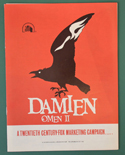 Damien Omen 2 - Press Book - Front