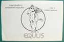 EQUUS - Synopsis -  Front