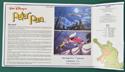 Peter Pan - Synopsis Leaflet - Back
