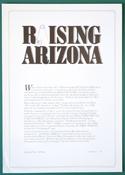 Raising Arizona - Front