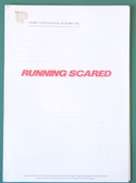Running Scared -  Production Info