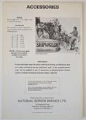 Sharky's Machine - Press Book - Back