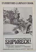 Shipwreck ! <p><i> Original 6 Page Cinema Exhibitors Campaign Press Book </i></P>