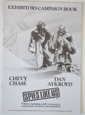Spies Like Us - Press Book - Front