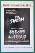 Swarm (The) <p><i> Original 12 Page Cinema Exhibitors Campaign Press Book </i></p>
