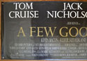 A FEW GOOD MEN Cinema BANNER Left