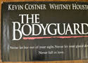 THE BODYGUARD Cinema BANNER - Left