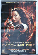 Hunger Games : Catching Fire (The)  <p><i> (Cinema Banner) </i></p>