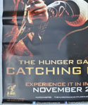 THE HUNGER GAMES : CATCHING FIRE Cinema BANNER Bottom Left