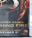 THE HUNGER GAMES : CATCHING FIRE Cinema BANNER Bottom Right
