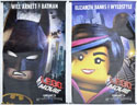 Lego Movie (The) <p><i> (Batman and Wyldestyle Cinema Banners) </i></p>