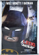 THE LEGO MOVIE Cinema BATMAN BANNER