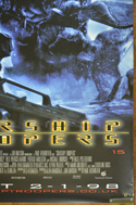 STARSHIP TROOPERS Cinema BANNER –  Bottom Right View