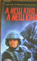 STARSHIP TROOPERS Cinema BANNER –  Top Left View