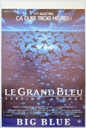 Big Blue (The) <p><i> (Original Belgian Movie Poster) </i></p>