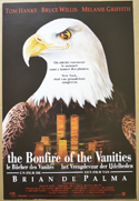 Bonfire Of The Vanities (The) <p><i> (Original Belgian Movie Poster) </i></p>