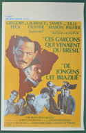 Boys From Brazil (The) <p><i> (Original Belgian Movie Poster) </i></p>
