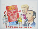 Cherchez L'idole <p><i> (Original Belgian Movie Poster) </i></p>