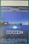 Cocoon <p><i> (Original Belgian Movie Poster) </i></p>