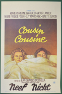 Cousin, Cousine <p><i> (Original Belgian Movie Poster) </i></p>