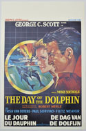Day Of The Dolphin (The) <p><i> (Original Belgian Movie Poster) </i></p>