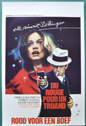 The Lady In Red <p><i> (Original Belgian Movie Poster) </i></p>