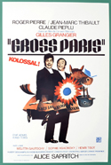 Gross Paris <p><i> (Original Belgian Movie Poster) </i></p>
