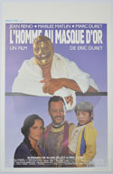 L'homme Au Masque D'or <p><i> (Original Belgian Movie Poster) </i></p>