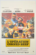 L'opération Corned Beef <p><i> (Original Belgian Movie Poster) </i></p>