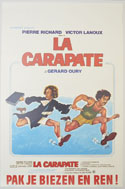 La Carapate <p><i> (Original Belgian Movie Poster) </i></p>