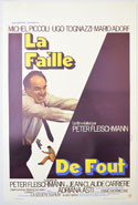 La faille <p><i> (Original Belgian Movie Poster) </i></p>