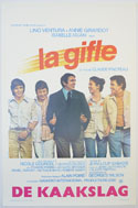 La Gifle <p><i> (Original Belgian Movie Poster) </i></p>