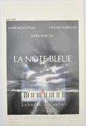 La note bleue <p><i> (Original Belgian Movie Poster) </i></p>