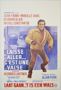 Laisse aller... c'est une valse <p><i> (Original Belgian Movie Poster) </i></p>
