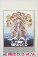Le Coup De Sirocco <p><i> (Original Belgian Movie Poster) </i></p>