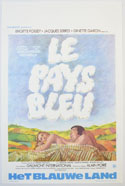 Le Pays Bleu <p><i> (Original Belgian Movie Poster) </i></p>