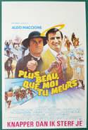 Plus Beau Que Moi, Tu Meurs <p><i> (Original Belgian Movie Poster) </i></p>
