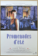 Promenades d'été <p><i> (Original Belgian Movie Poster) </i></p>