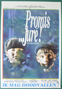 Promis... Jure! <p><i> (Original Belgian Movie Poster) </i></p>