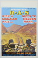 R.A.S. <p><i> (Original Belgian Movie Poster) </i></p>