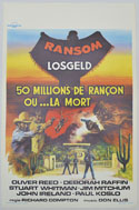 Ransom <p><i> (Original Belgian Movie Poster) </i></p>