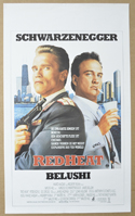Red Heat <p><i> (Original Belgian Movie Poster) </i></p>
