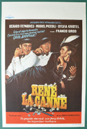 René la canne <p><i> (Original Belgian Movie Poster) </i></p>