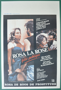 Rosa la rose, fille publique <p><i> (Original Belgian Movie Poster) </i></p>