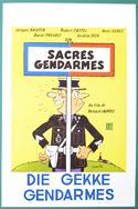 Sacrés gendarmes <p><i> (Original Belgian Movie Poster) </i></p>