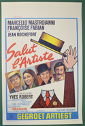 Salut L'Artiste <p><i> (Original Belgian Movie Poster) </i></p>