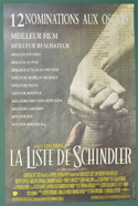 Schindler's List <p><i> (Original Belgian Movie Poster) </i></p>