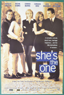 She's The One <p><i> (Original Belgian Movie Poster) </i></p>