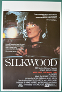 Silkwood <p><i> (Original Belgian Movie Poster) </i></p>